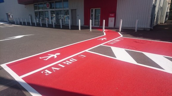super u- drive- famille-parking-pmr-accessibilité-aude-occitanie